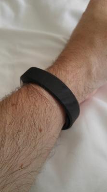 Band on wrist