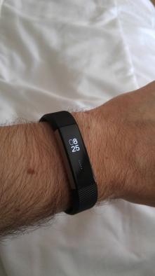 Display on wrist
