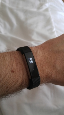 Display on wrist