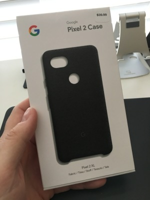 super popular daea1 73ea2 Google Pixel 2 Fabric case review | Silicon Theory