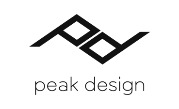 peak design logo plus text